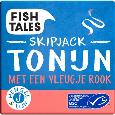Fish Tales Tonijn skipjack gerookt MSC