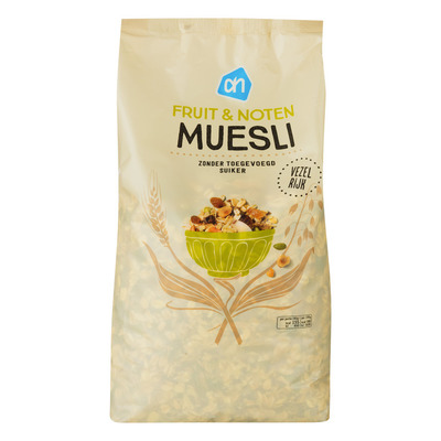Huismerk Fruit noten muesli