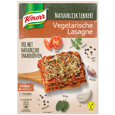 Knorr Natuurlijk lekker lasagne vega