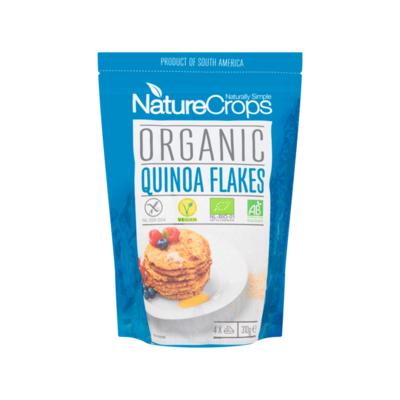 NatureCrops Organic Quinoa Flakes