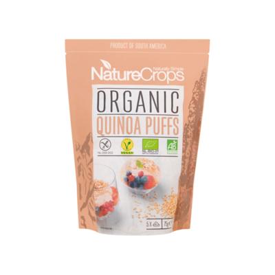 NatureCrops Organic Quinoa Puffs