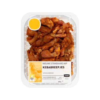 Huismerk Nieuwe Standaard Kip Kebabreepjes