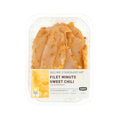 Huismerk Nieuwe Standaard Kip Filet Minute Sweet Chili