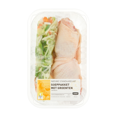 Huismerk Nieuwe Standaard Kip Soeppakket met Groenten