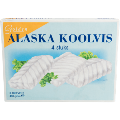 Golden Alaska koolvisfilet 4 stuks