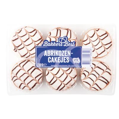 Bakkers Best Cakejes abrikozen