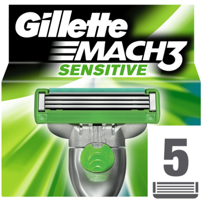 Gillette Scheermesjes mach3 sensitive power