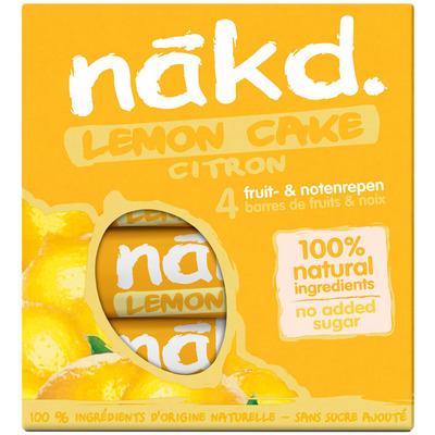 Nakd Lemon drizzle
