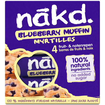 Nakd Blueberry muffin