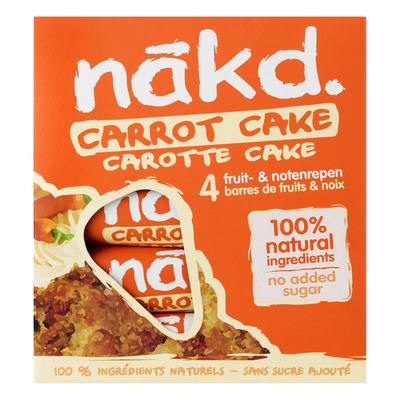 Nakd Carrot cake
