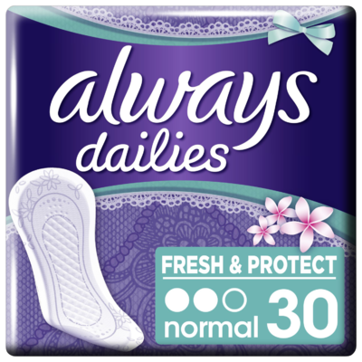 Always Inlegkruisjes freshness normal