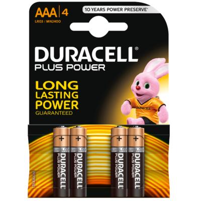 Duracell Batterijen plus power AAA