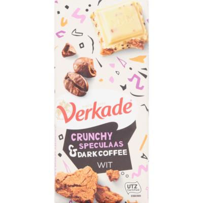 Verkade Chocoladereep speculaas dark coffee