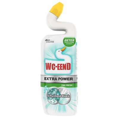 WC Eend Extra power schuimend bleek pine fresh