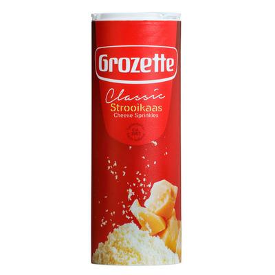 grozette 50 jaar Grozette Strooikaas classic (80g)   Prijzen en Aanbiedingen  grozette 50 jaar