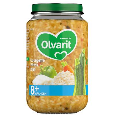Olvarit Courgette witvis rijst 8 maanden
