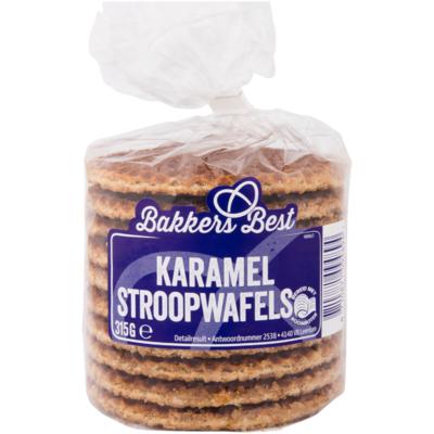 Bakkers Best Stroopwafels karamel