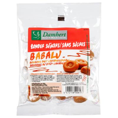Damhert No sugar added babalu caramel