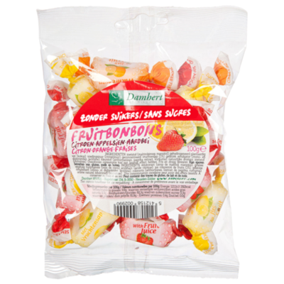 Damhert No sugar added fruittoffee