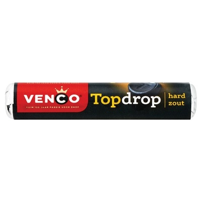 Venco Drop Topdrop hard zout