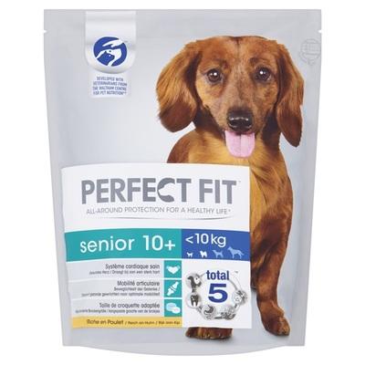 Perfect senior hondenvoer droge brokken rijk aan kip