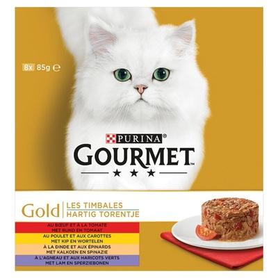Gourmet gold kattenvoer hartig torentje multipak