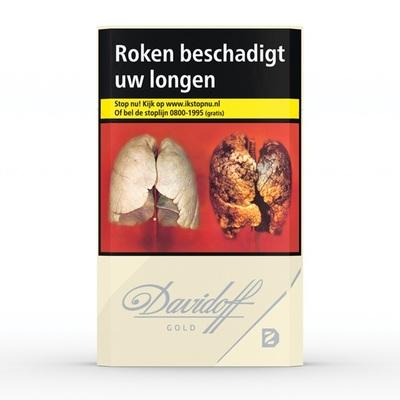 Davidoff sigaretten gold 20 stuks