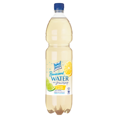 Dubbelfrisss Water citroen & limoen sparkling