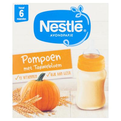 Nestle Avondpapje Pompoen met Tarwebloem vanaf 6 Maanden 2 x 250 ml