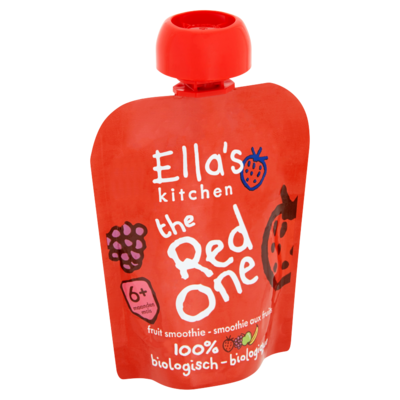 Ella's Kitchen Fruit smoothie the red one 6 maanden