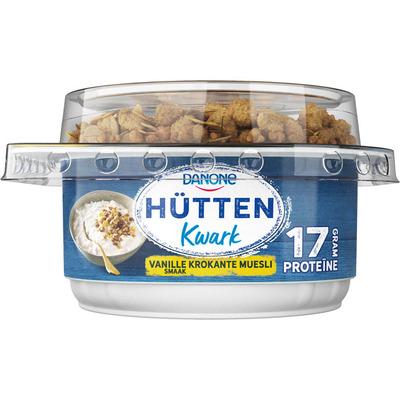 Danone Hüttenkwark vanille krokante muesli