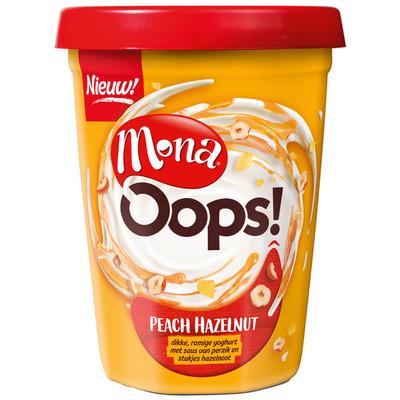 Mona Oops! peach hazelnut