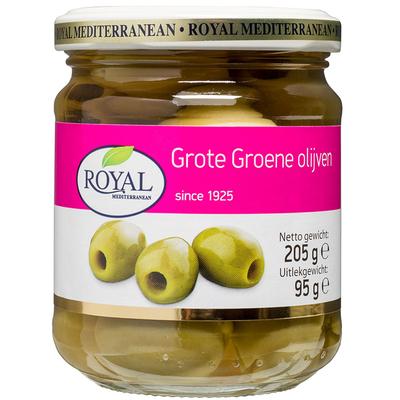 Royal Grote groene olijven