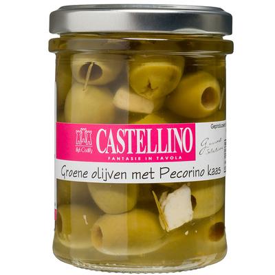 Castellino Groene olijven met pecorino kaas