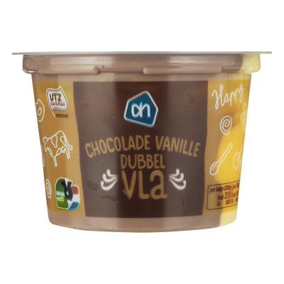 Huismerk Vla portie vanille choco