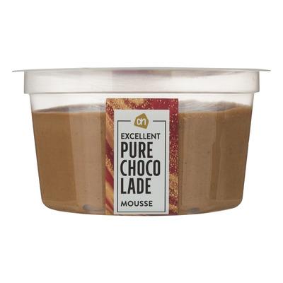 Huismerk Mousse pure chocolade