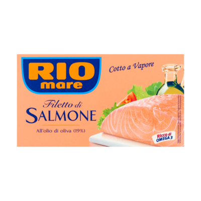 Rio Mare Zalmfilet in Olijfolie (19%)