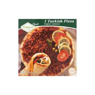Mekkafood Classic 3 Turkish Pizza Original Lahmacun