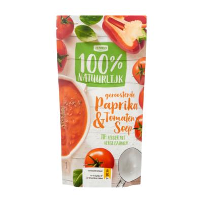Huismerk Geroosterde Paprika & Tomatensoep