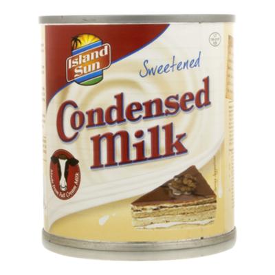 Island Sun Gecondenseerde melk