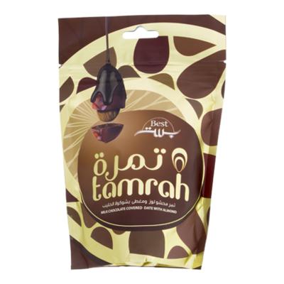 Tamrah Dadels melk chocolade amandel