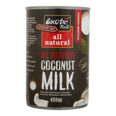 Exotic Food Kokosmelk 18% all natural