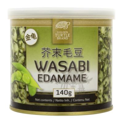 Golden Turtle Edamame wasabi nootjes