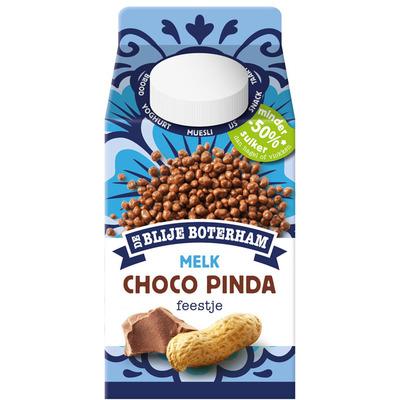 De Blije Boterham Choco pinda feestje melk