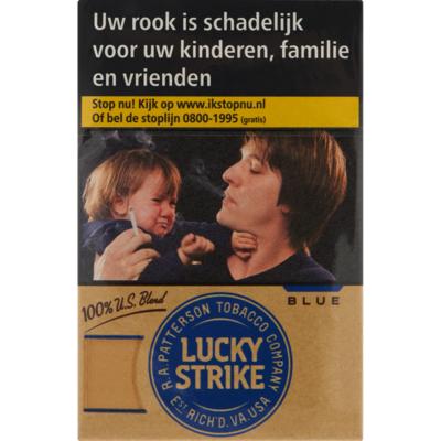 Lucky Strike US blend blue