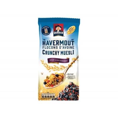 Quaker Crunchy muesli goji & bes