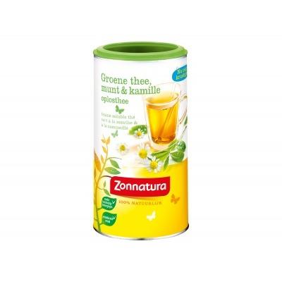 Zonnatura Groene thee & kamille oplosthee