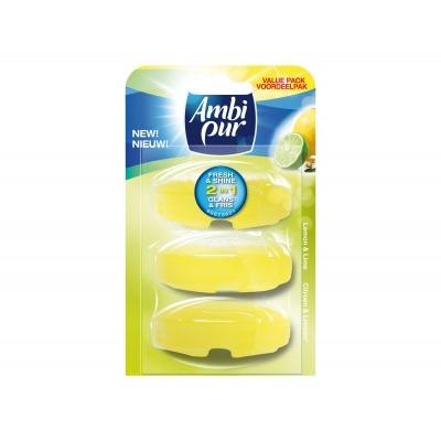 Ambi Pur Toiletblok lemon & lime navulling