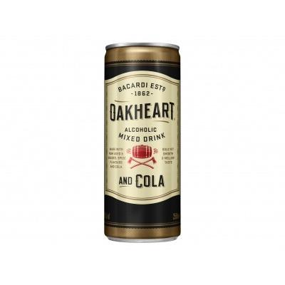 Bacardi Bacardi Oakheart & cola