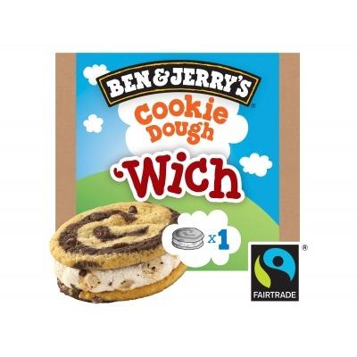 Ben & Jerry's Cookie dough 'Wich